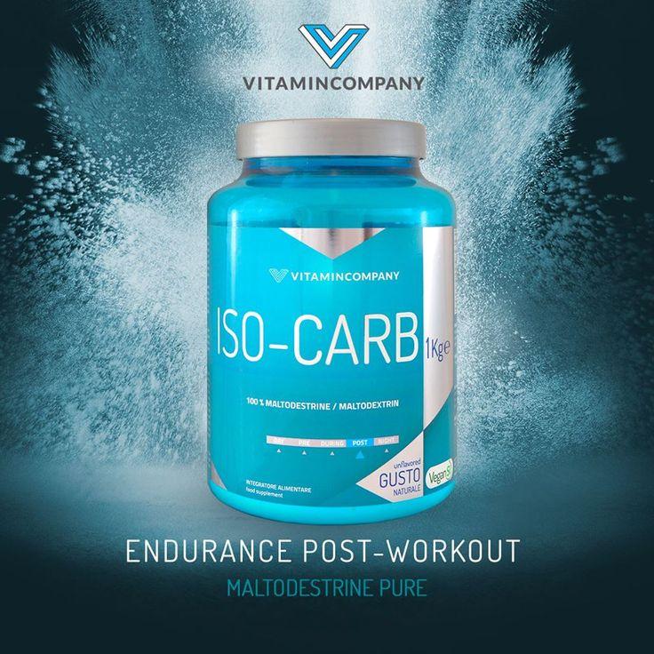 ISO-CARB è il post-workout specifico per chi pratica allenamenti intensi e/o prolungati, ad esempio in sport come ciclismo, corsa e nuoto di fondo. #moltodestrine #sports #fitness #protein #italy #shops #force #muscle http://www.vitamincompany.it/iso-carb.html