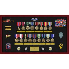 Pre-Assembled Large Shadow Box Display Case