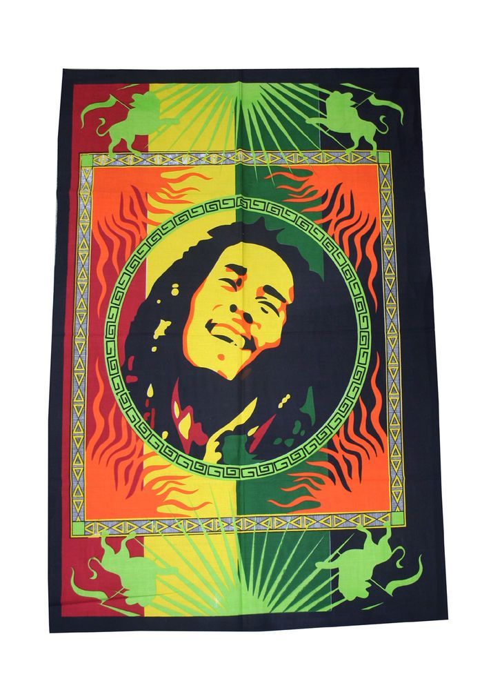 New Bob Marley Tapestry Wall Hanging Throw Poster Flag Cotton