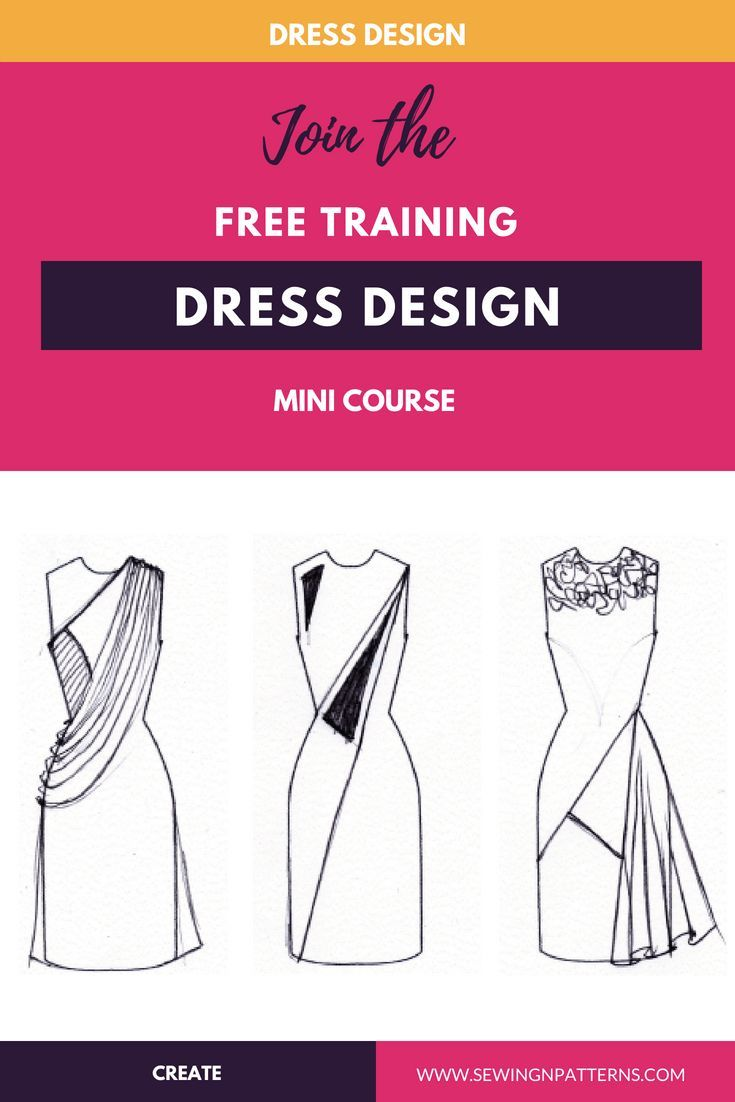 Learn How To Design Your Own Clothes Pattern Drafting Design