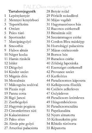 PALEO szakácskönyv | Paleo-Diéta.hu