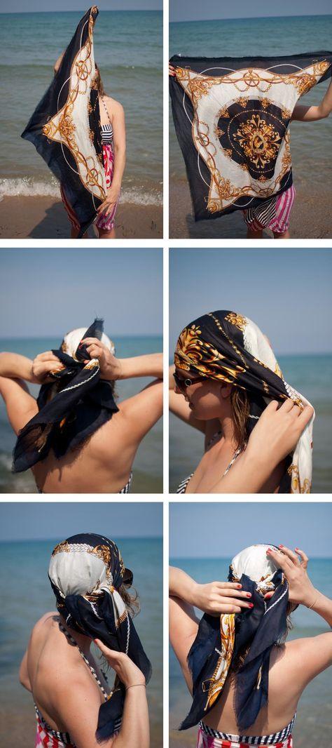 Kopftuch binden: 39 kreative Ideen und Anleitung zum Selbermachen