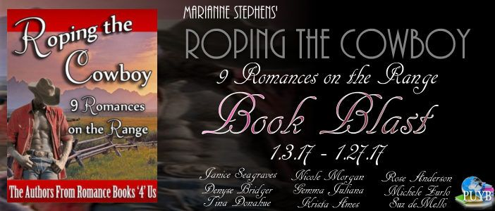 Just Us Book Blog: Roping the Cowboy Book Blast