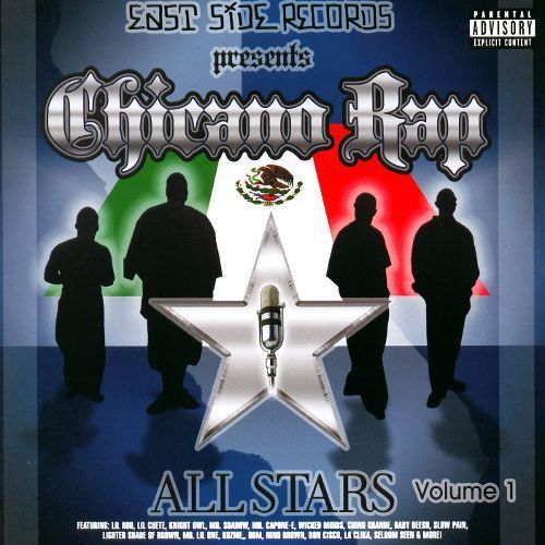 Chicano Rap Allstars, Vol. 1 [CD] [PA]