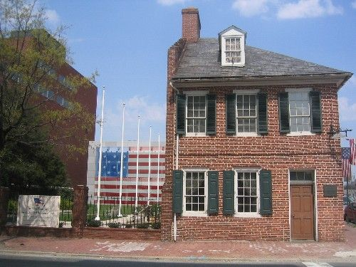 Star-Spangled Banner and Flag House - Baltimore Maryland - Photo by Laureen Miles Brunelli