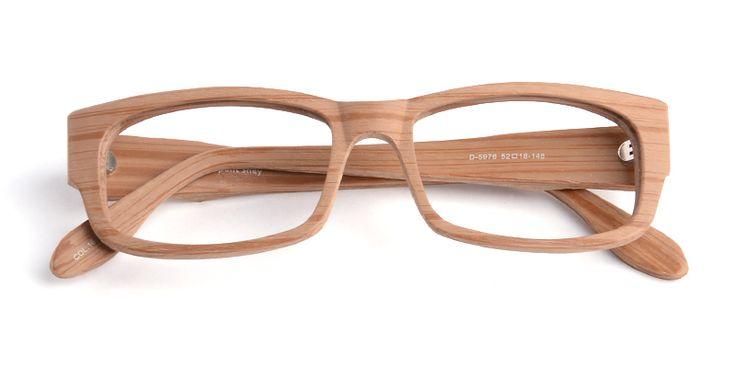 Wood Frame Eyeglasses : Unisex full frame wood grain eyeglasses Hot Spex Pinterest