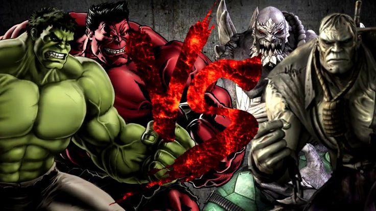 Халк и Красный Халк VS Думсдэй и Соломон Гранди [Bifrost Fight Club 3.0]