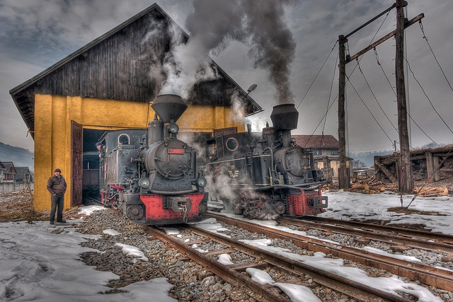 // steam trains //