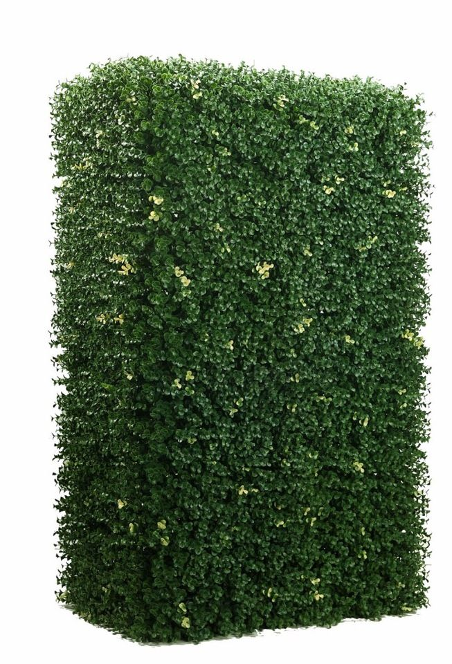 outdoor uv resistant landscaping Artificial boxwood grass mat,garden decoration artificial grass boxwood hedge fence