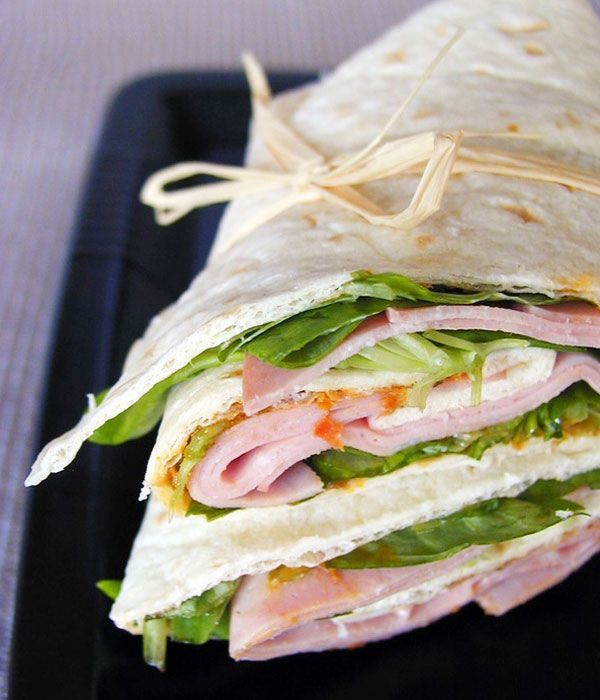 17 Best ideas about Ham Wraps on Pinterest | Breakfast ...