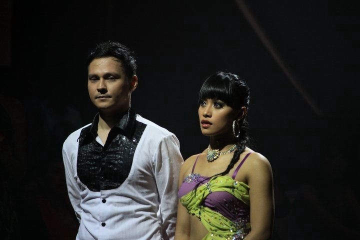 Dancing With The Stars Indonesia, before the judges with Ivan Ray - #DWTS #IvanRay @ivanbagasray