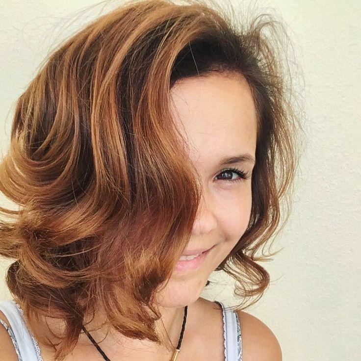 #hair #honey