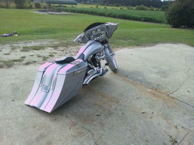 Custom Bike With Our 8 Quot Set Harley Saddlebags Amp Fender 8