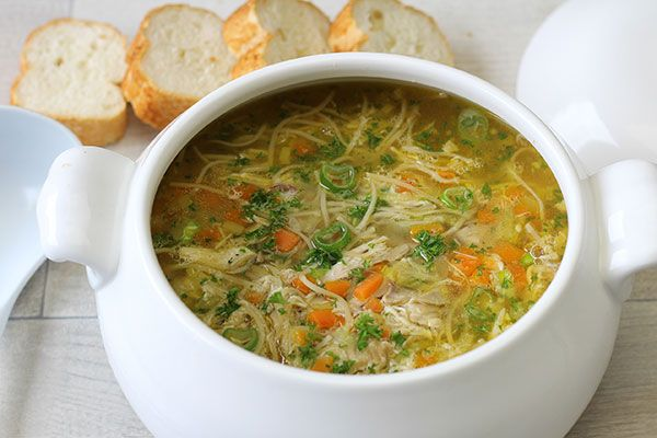 Real chicken noodle soup – Recipes – Bite