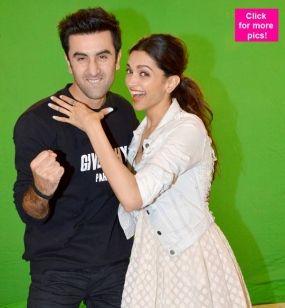 Ex-lovers Ranbir Kapoor and Deepika Padukone create TAMASHA off screen - view HQ Images! - Bollywood News & Gossip, Movie Reviews, Trailers & Videos at Bollywoodlife.com
