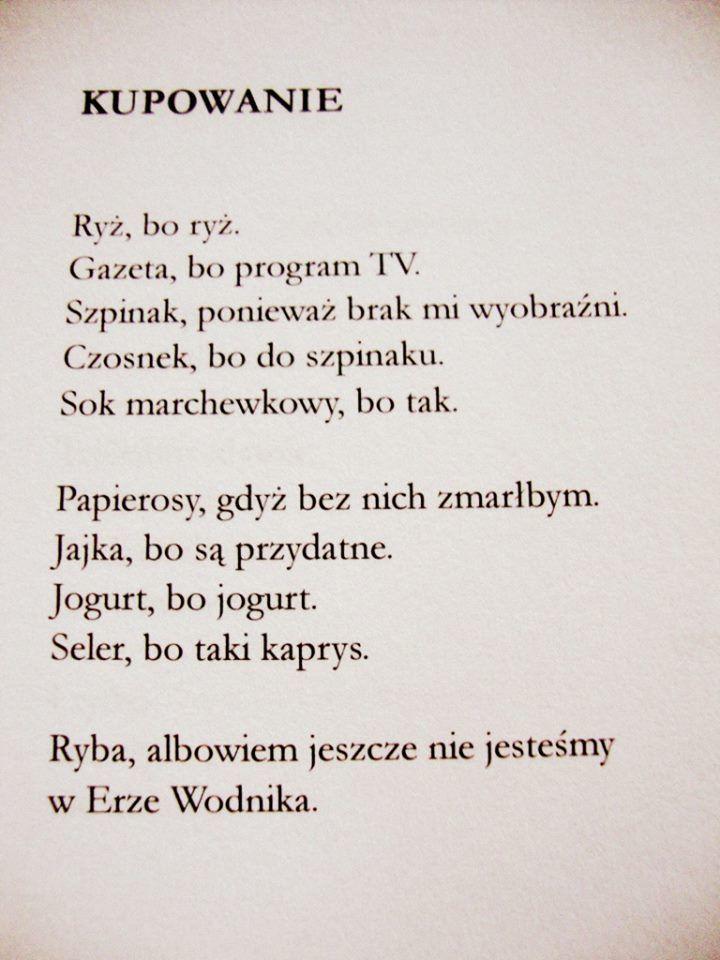 Marcin Świetlicki / Kupowanie
