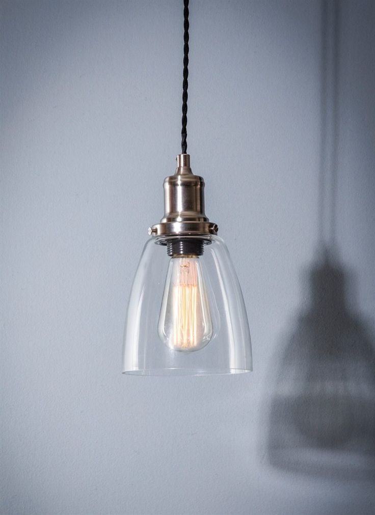 Hoxton Domed Glass Pendant by Garden Trading
