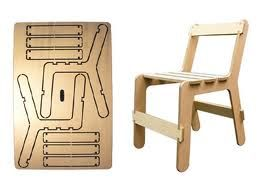 muebles de carton para maquetas - Buscar con Google   Funcional ...