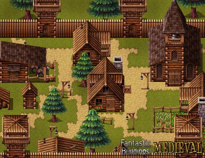 RPG Maker VX Ace - Fantastic Buildings - Medieval on Steam