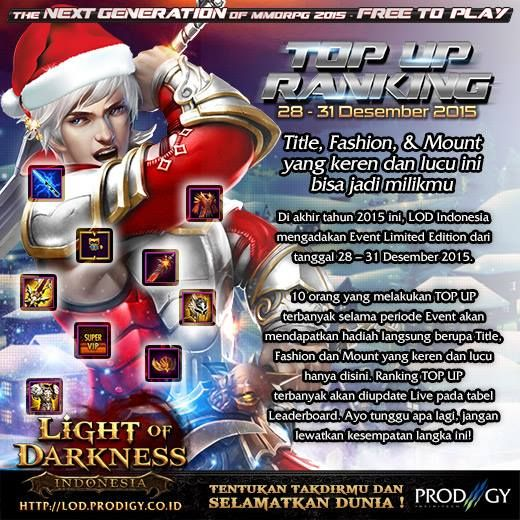 Light of Darkness Indonesia The Best MMORPG - Prodigy infinitech