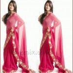 """Devon Ke Dev…Mahadev"" serial actress Sonarika Bhadoria in pink saree"