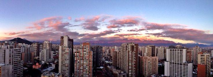 My rooftop view...Santiago Centro