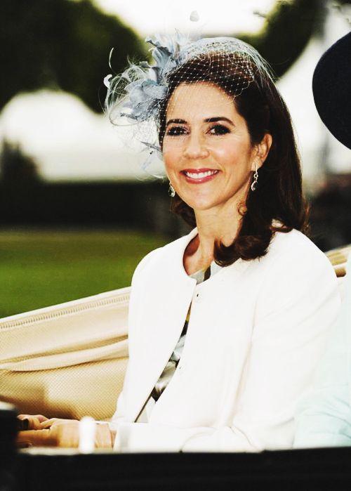 Crown Princess Mary of Denmark via The Three Princesses