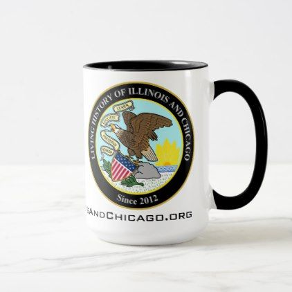 #Living History of Illinois and Chicago® Community Mug - diy cyo customize personalize design