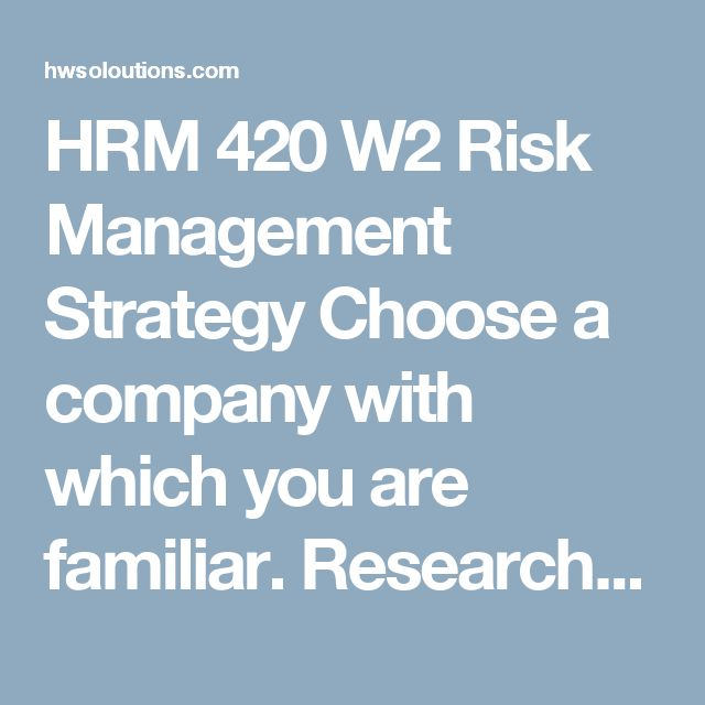 socially responsible risk management strategy Risk management tool transformed for opportunity management some companies are already thinking in terms of opportunity and benefits when creating and institutionalizing their corporate responsibility.