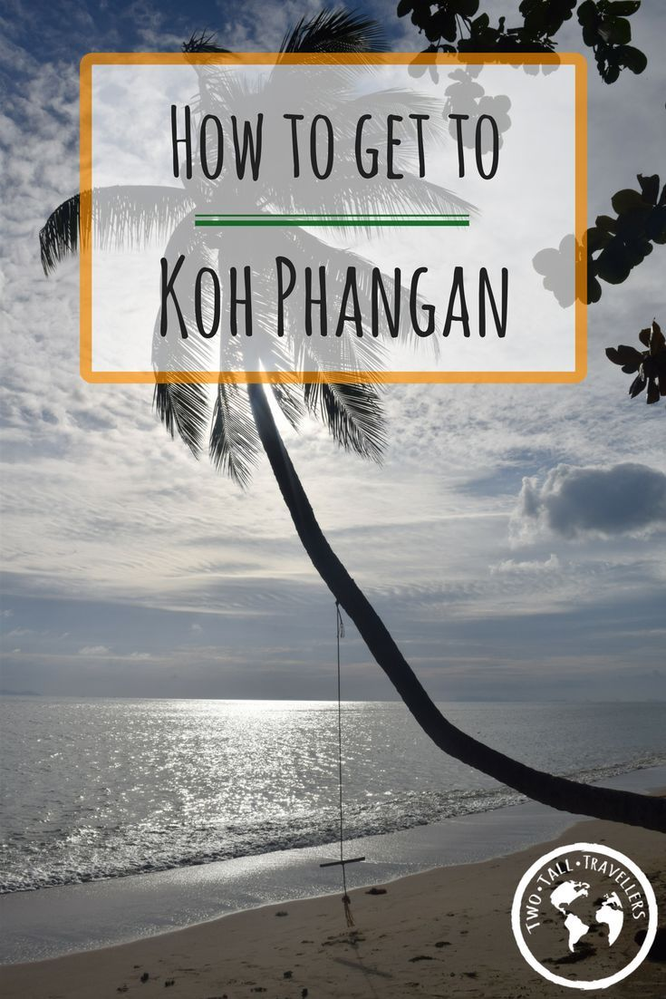 Planning a trip to Koh Phangan? Want to experience the infamous Full Moon Party? Read to find out how to get the small Thai Island.