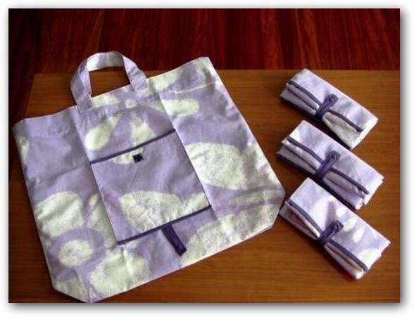 Imágenes para hacer bolsas de tela paso a paso