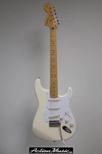 2007 Fender® Voodoo Strat® Olympic White.
