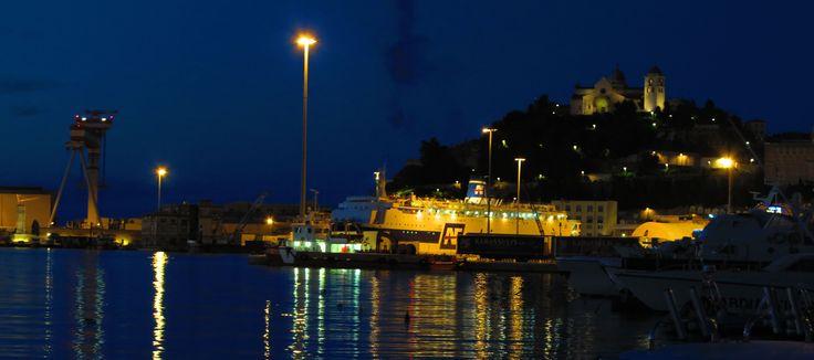 ancona by night
