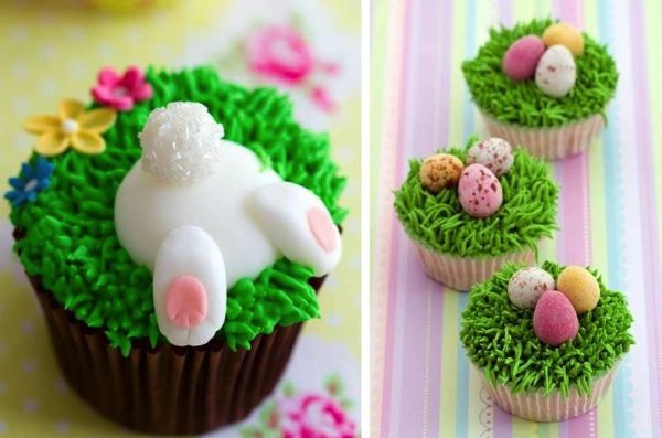 DIY Cute Easter Cupcakes - Find Fun Art Projects to Do at Home and Arts and Crafts Ideas | Find Fun Art Projects to Do at Home and Arts and Crafts Ideas