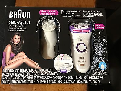 Epilators and Electrolysis: Braun Silk Epil 9 Skinspa 9 Wet And Dry Cordless Epilator -> BUY IT NOW ONLY: $100 on eBay!