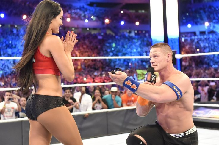 John Cena and Nikki Bella Engaged April 2017 | POPSUGAR Celebrity