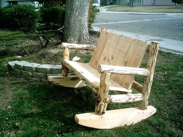 Furniture: Moving Wooden Bench On Large Green Grass Natural Sun Lighting Big Tree Green Outdoor Planttaions Gray Floor Color Dry Soil White Color Car Front Home Garden Gray Wall Home Paint: Superb Outdoor Furniture in Beautiful Place