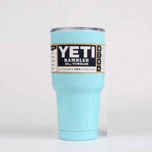 YETI Tumbler Rambler Cups 30 OZ Double Stainless Steel Tumbler Tea Cups And Mugs Yeti Cup Cooler 20OZ Pink Travel Mug Coffee