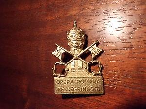 Spilla opera romana pellegrinaggi
