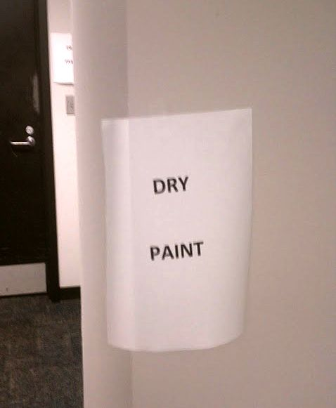 Well... that's helpful.  (find more funny office signs at funnysigns.net)