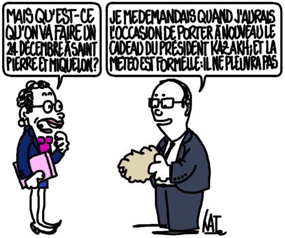 François Hollande va à Saint-Pierre-et-Miquelon http://undessinparjour.wordpress.com/2014/12/23/lautre-outre-mer/