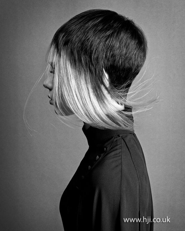 Skyler McDonald London Hairdresser of the Year finalist BHA 2012