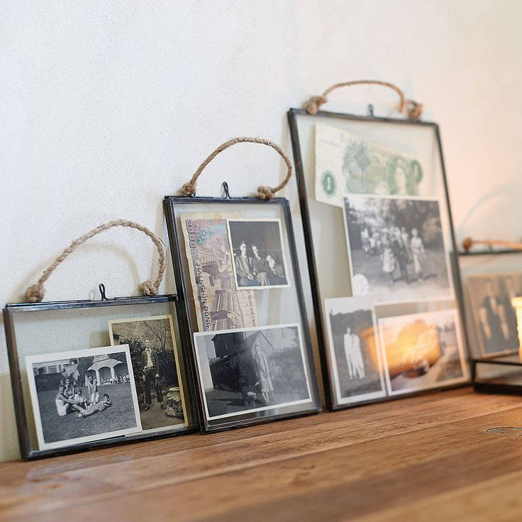 These frames are a stylish way of showcasing and safe guarding your precious memories. £12.95