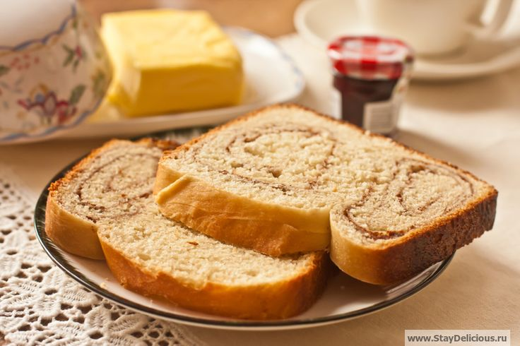 Хлеб с корицей | Кулинарный журнал Stay Delicious