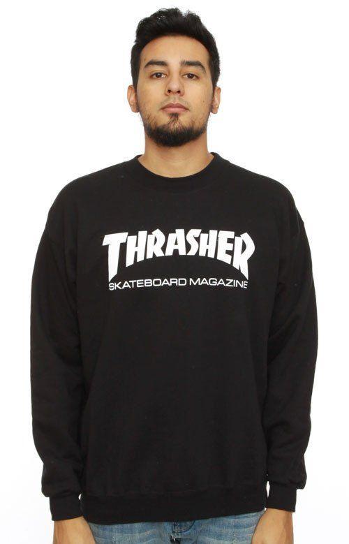 Thrasher, Skate Mag Crewneck - Black - Northside - 1