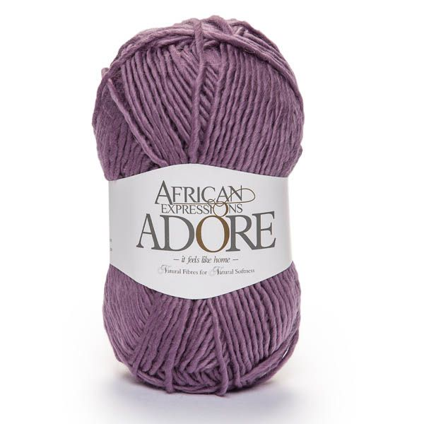 Colour Adore Purple, Chunky weight,  African expressions 8136, knitting yarn, knitting wool, crochet yarn, kid mohair yarn, merino wool, natural fibres yarn.