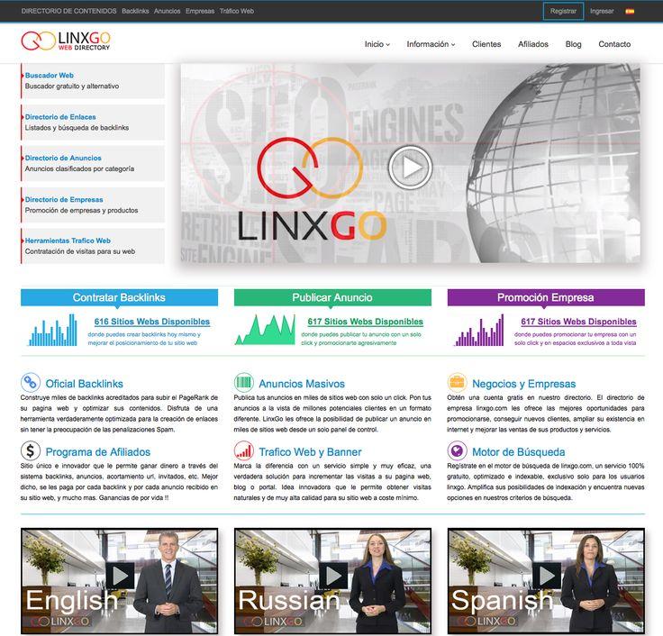 Anuncios Masivos  Publica tus anuncios en miles de sitios web con solo un click. Pon tus anuncios a la vista de millones potenciales clientes en un formato diferente. LinxGo les ofrece la posibilidad de publicar un anuncio en miles de sitios web desde un solo panel de control.