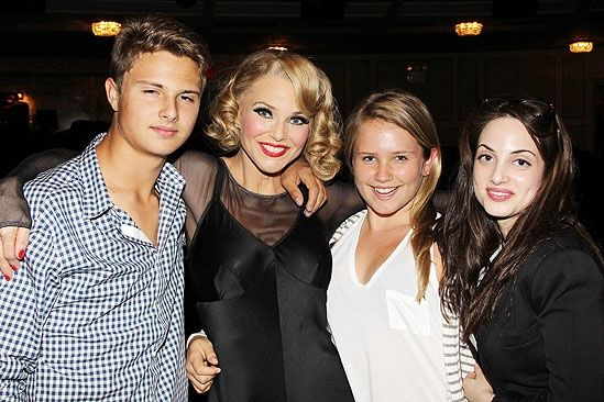 Jack and Sailor Cook and Alexa Rae Joel...Christie Brinkleys kids