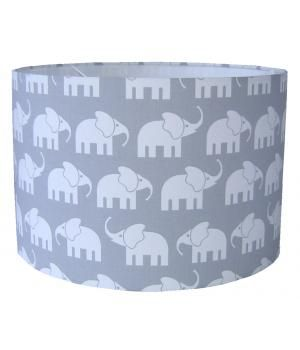 Children Lamp with cute elephants in gray. #Designed 4 Kids