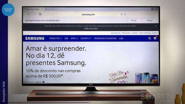 cool Como usar o Navegador Web - Samsung Smart TV Série J (2015)
